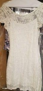 Hollister Lace Slip Dress
